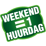 weekend is 1 huurdag